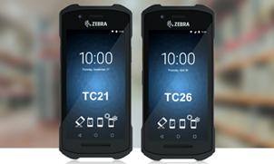 Der robuste mobile Computer TC21 & TC26 von Zebra